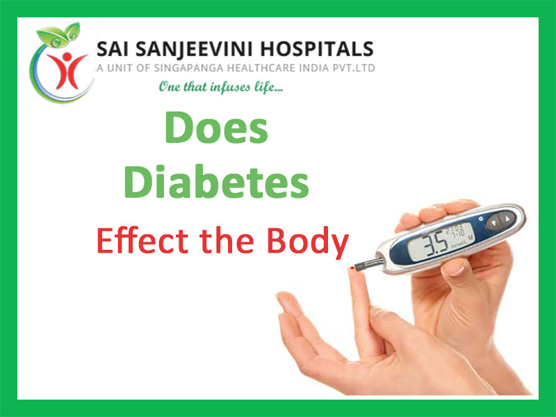How Does Diabetes Effect the Body