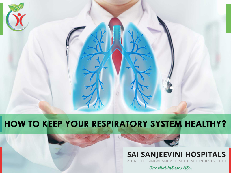 How to keep your respiratory system healthy?